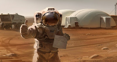 Mark Watney photo, NASA, The martian