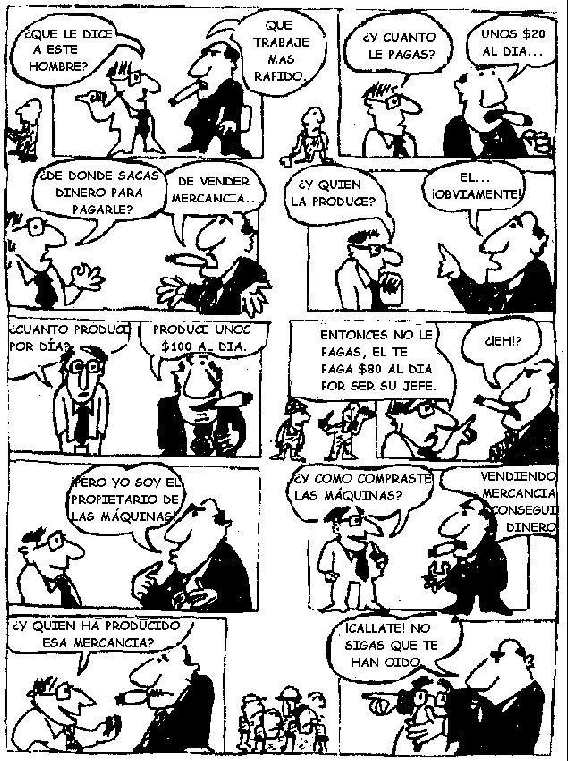 """¿Qué es el capitalismo?,¿ Por que se produce el Desempleo?,Desempleo,paro,crisis,explotación,esclavitud,capitalismo,ONGs,cosumismo,explotación,medios de comunicación,documentales, Anticapitalismo,¿Qué es el capitalismo?  El Capitalismo egoísmo brutal y antihumano, que somete a la humanidad aprovechándose del esfuerzo de sus trabajo de los demás para crear riquezas y privilegios para sus propios intereses, el capitalismo.   El Capitalismo  afirma la Libertad pero lo hace sacrificando la Igualdad. Defiende la libertad del@  opresor@ pero negando la libertad del@ oprimid@ ., """"Los trabajadores no entienden que la riqueza que ellos han creado se la han robado y se la siguen robando cada día.  La totalidad del sistema capitalista descansa en un robo así. La totalidad del sistema de leyes y gobiernos sostiene y justifica este robo. Ese es el orden de cosas denominado capitalismo, y la ley y el gobierno existen para proteger ese orden de cosas.  El Capitalismo roba el trabajo producido por el trabajador y te esclaviza por un salario.""""    escrito por el Anarquista Alexander Berkman""""   Esclavos Asalariados y Esclavos Consumidores,Video """"consume idiota"""" el capitalismo te roba y el salario de esclaviza,Hablamos de los medios de comunicación o mejor dicho los Medios de desinformación ,Las ONGs, el negocio del capitalismo.,La surconsommation (extracto de 6 minutos del documental Samsara) ,"""