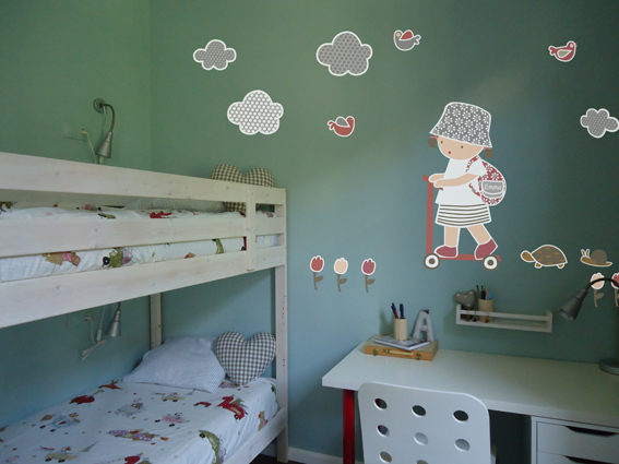 Vinilos infantiles personalizados vinilos infantiles ni a for Vinilos infantiles nina