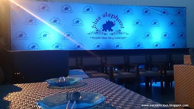 blue elephant in cebu