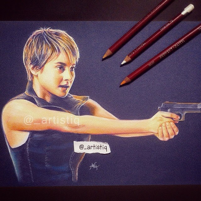 14-Shailene-Woodley-Insurgent-Cas-_artistiq-Colored-Celebrity-and-Cartoon-Drawings-www-designstack-co