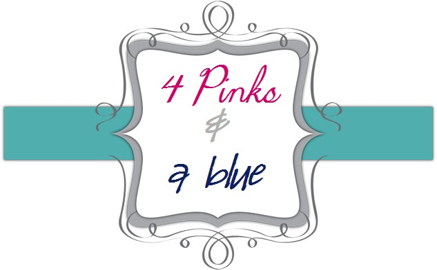 4 Pinks & A Blue