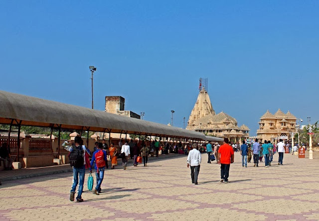 entry into the somnath temple