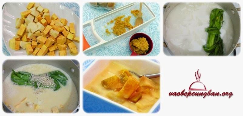 Cách nấu chè Bubur ChaCha (BoBo ChaCha) ngon tuyệt của Malaysia 2