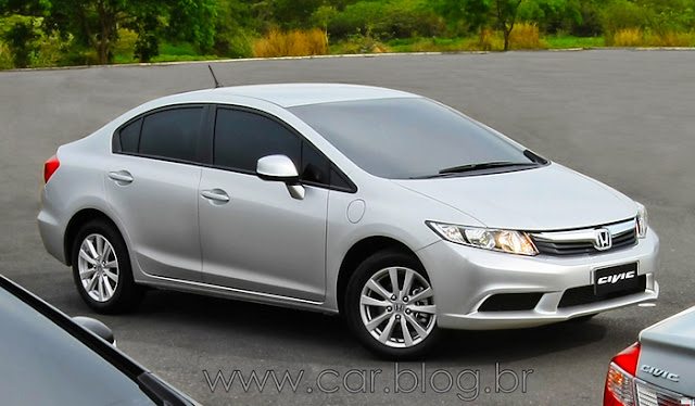 Novo New Civic 2012 LXS - Preço R$ 69.700
