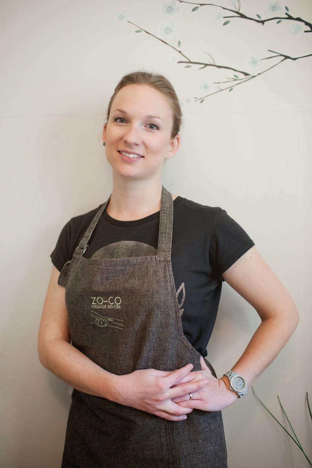 Julie Lafont praticienne en massage-bien-être