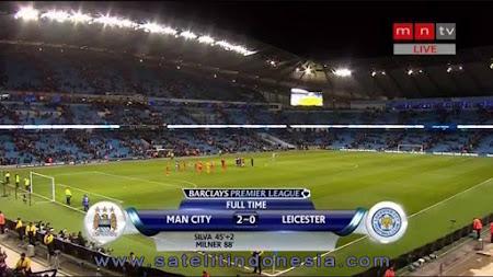 siaran langsung liga inggris leicester vs manchester city