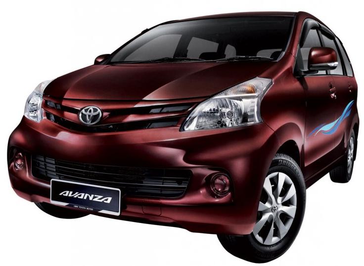 Variasi Warna Toyota MPV Avanza Baru