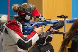 Petra Zublasing (Itália) - Carabina 3 Posições feminino - Final da Copa do Mundo ISSF de Carabina e Pistola 2013 - Foto: ISSF/ Reprodução