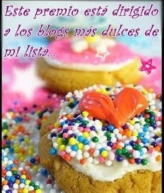 Premio dulce de mi amiga Tara