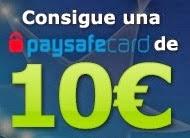 Te regalamos 10€ en una Paysafecard
