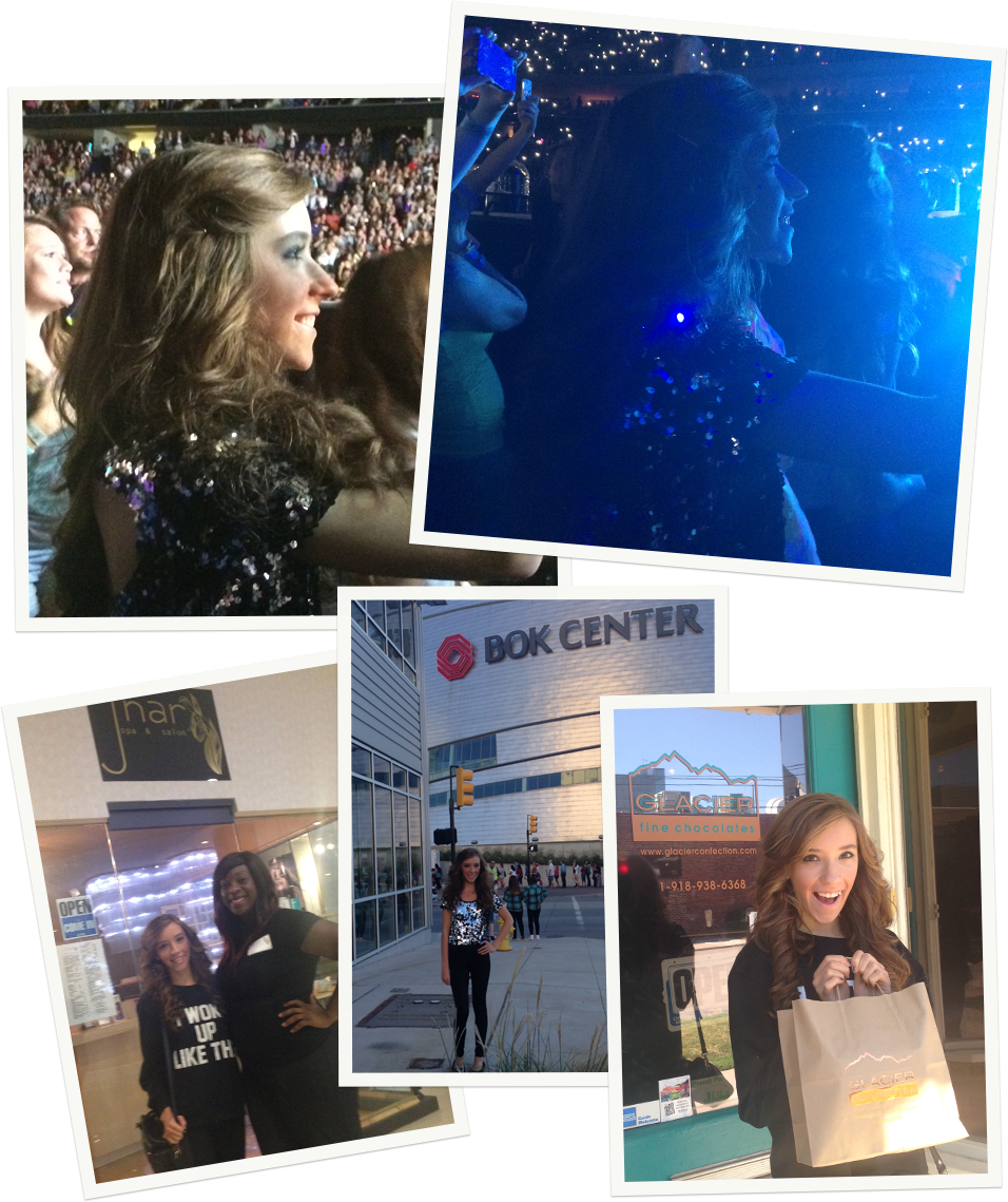 Spread the Sparkle - One Direction, 5 Seconds of Summer, Birthday, Concert, Tulsa Oklahoma