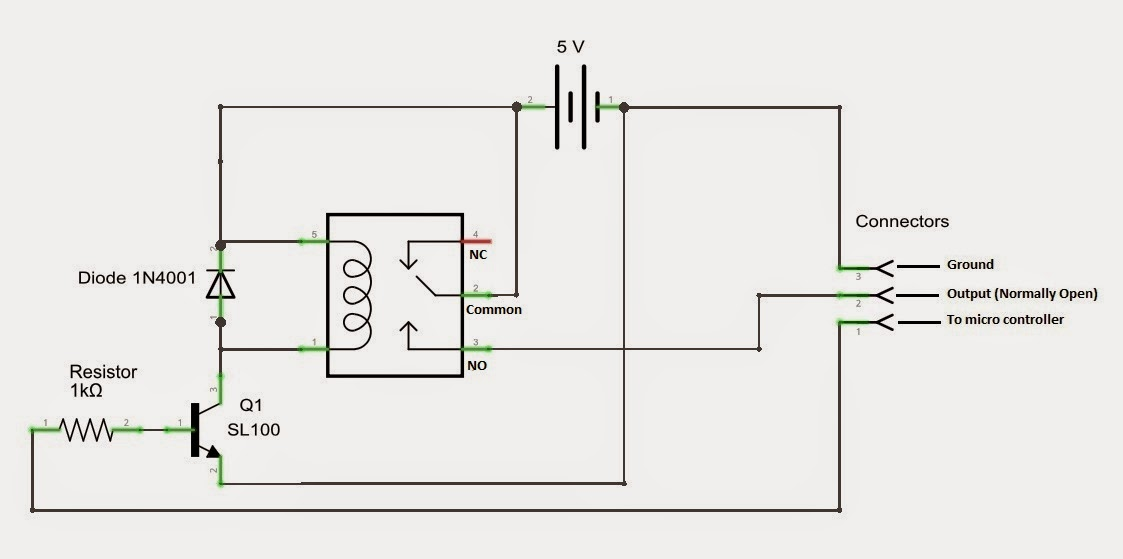 Mbed  Diy Simple Relay Circuit Board