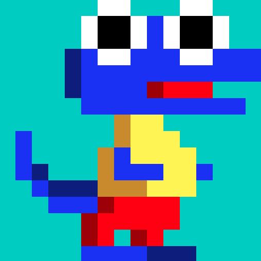 Blue croc - Jen Haugan Animation & Illustration