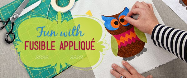 Fun with Fusible Applique Craftsy giveaway