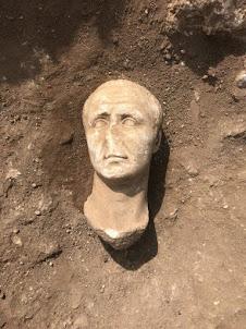 Trois têtes en marbre de l'époque romaine découvertes à Castrocielo