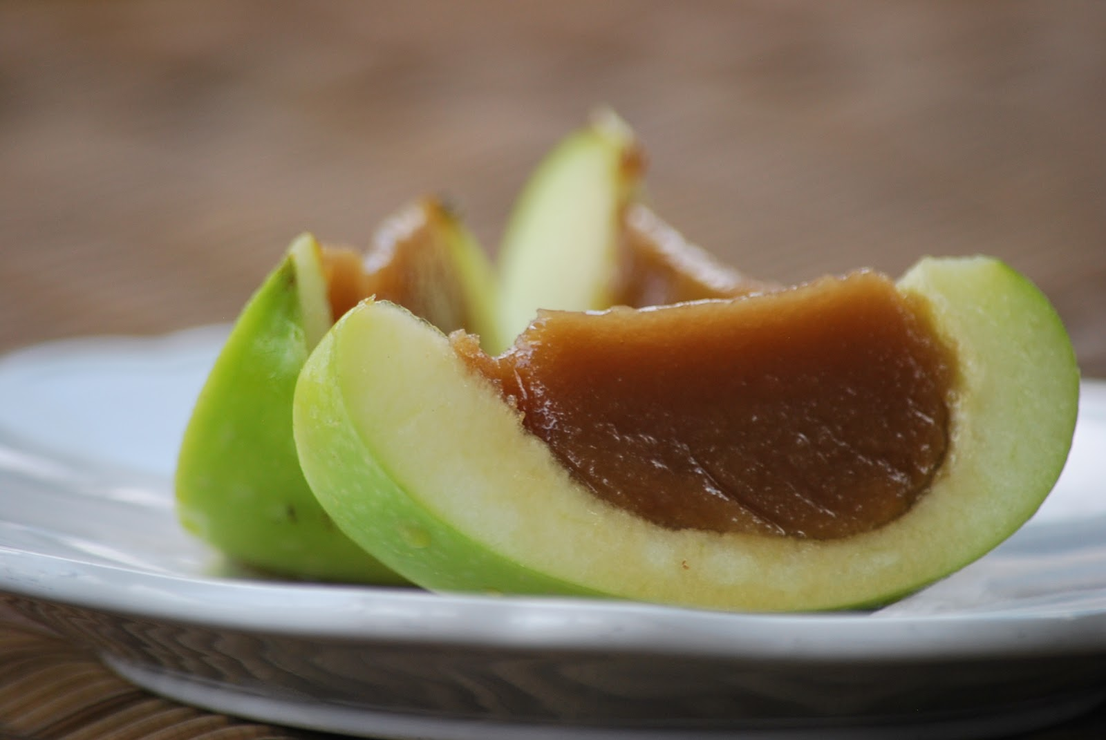 My story in recipes: Caramel Apple Bites