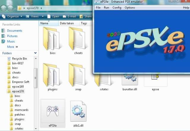 download emulator ps1 for pc + bios
