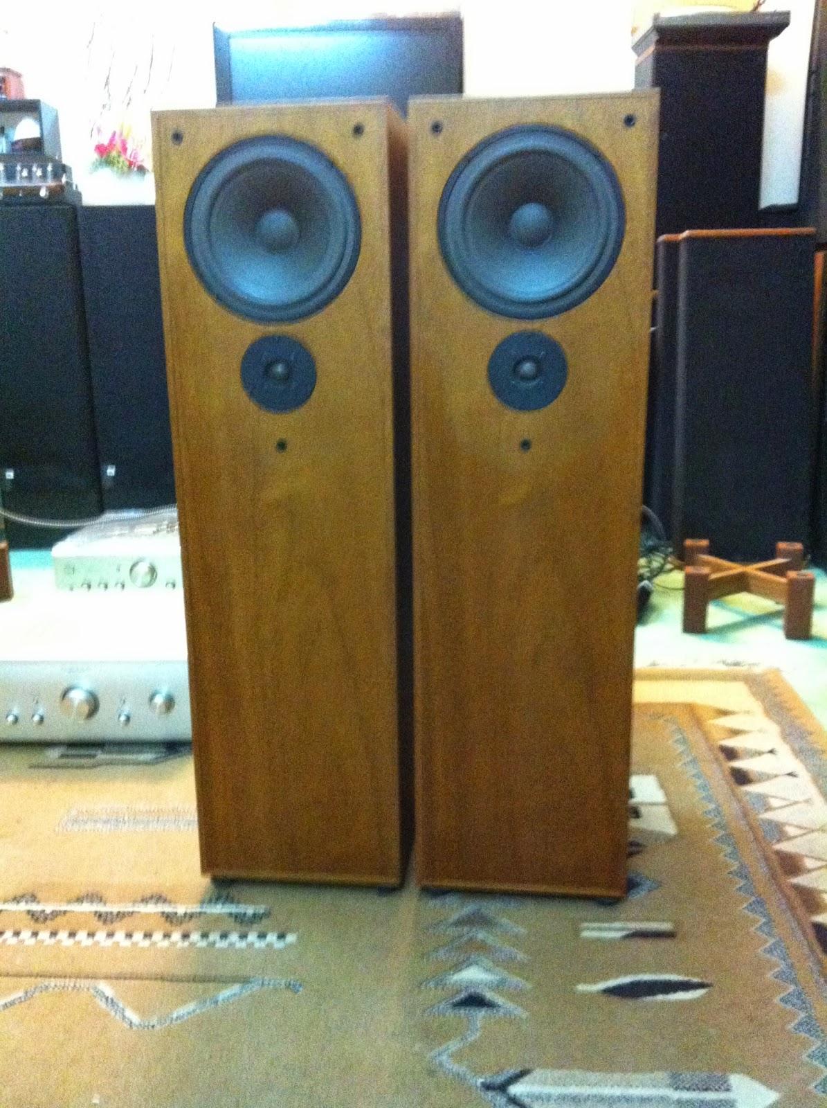Mặt trước loa  Audio Note AZ-Three