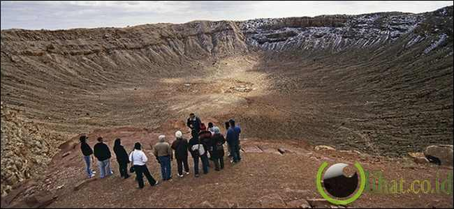 Kawah Barringer, Arizona, Amerika Serikat