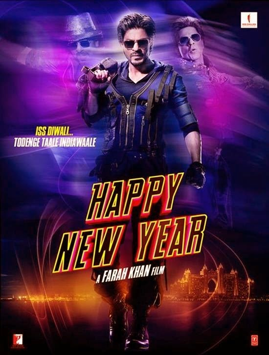 Shah Rukh Khan - Happy New Year HNY Poster