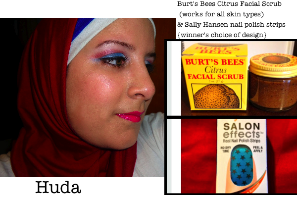 Huda: Huda's Beauty, beauty giveaway, burts bees, win products