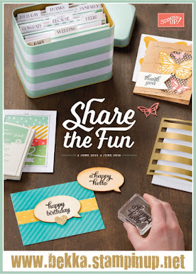 Check Out The New Stampin' Up! UK Catalogue available at www.bekka.stampinup.net