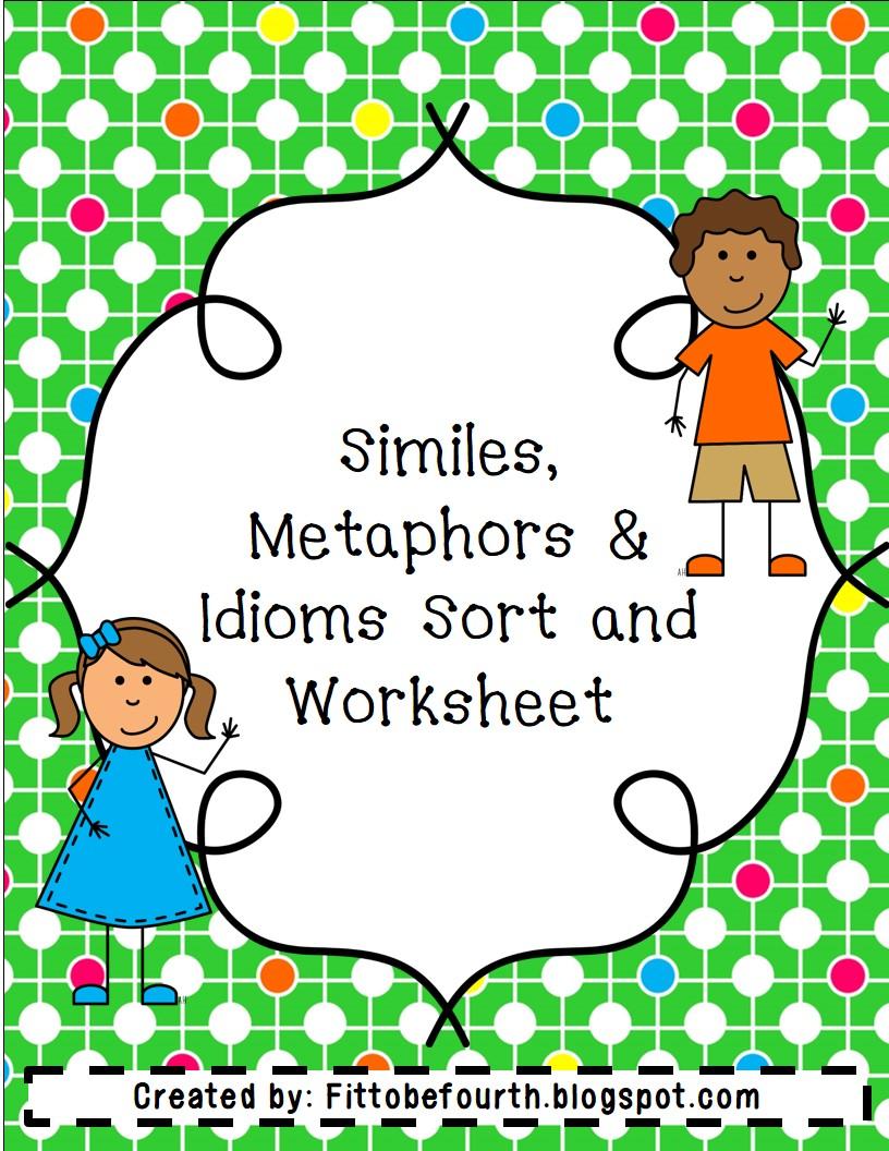 Metaphors And Similes Worksheet - Viewing Gallery