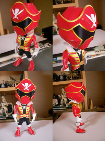 Tokumei Sentai Go-Busters Red Buster