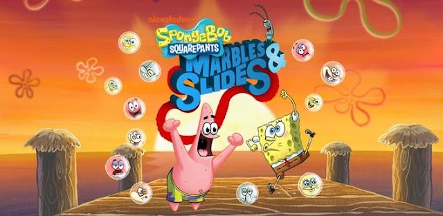 SpongeBob Marbles & Slides-Bob esponja- patricio-Torrejoncillo
