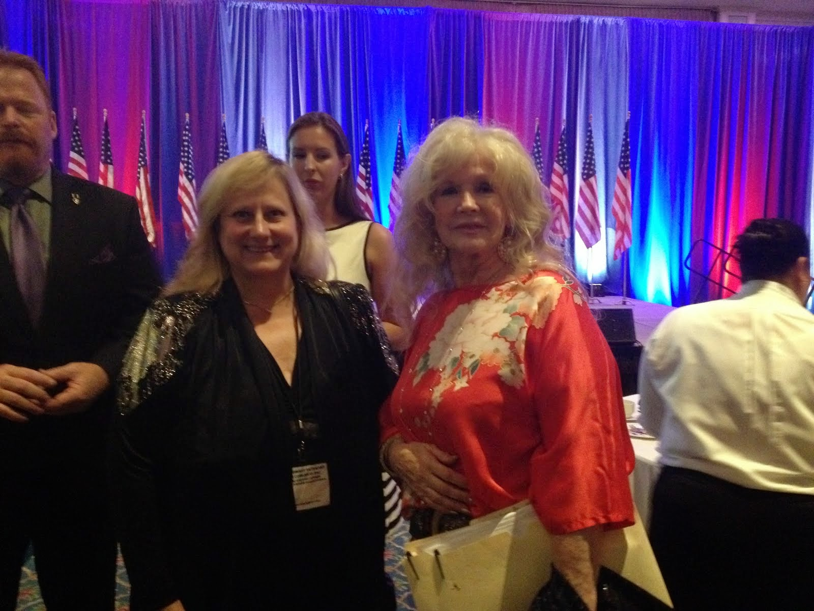 Connie Stevens Supporting Combat Veterans