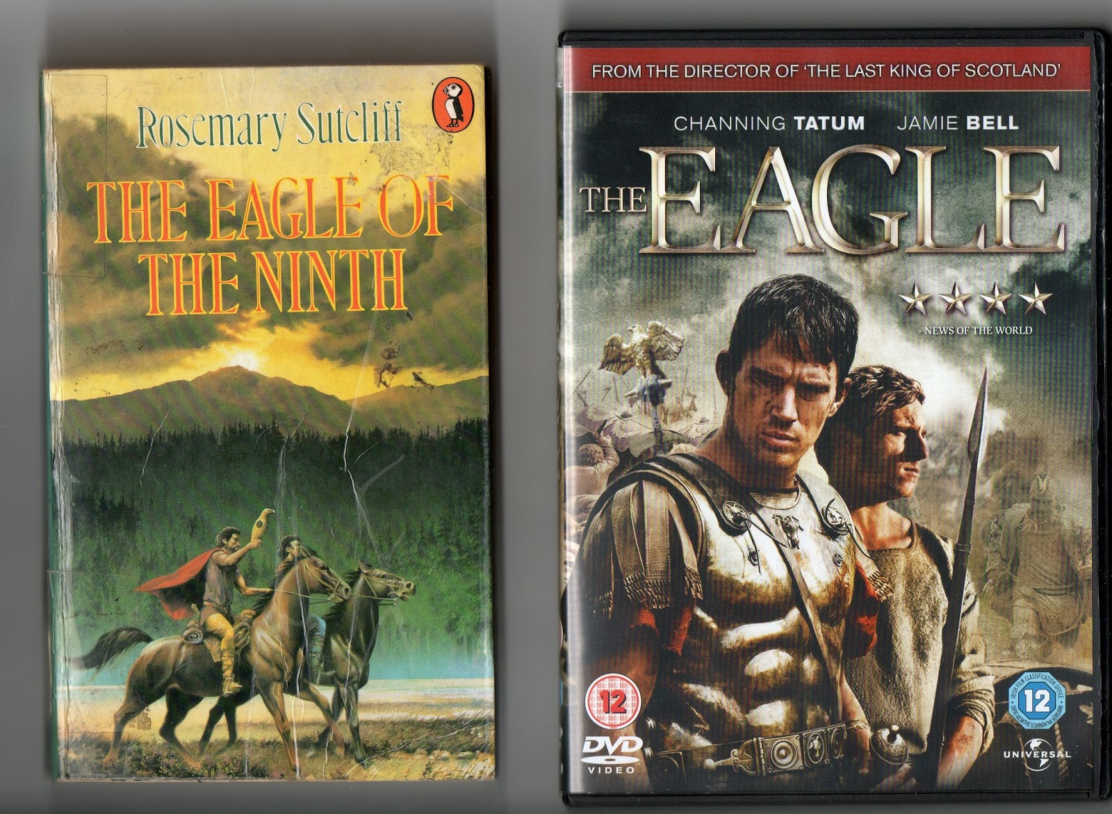 Eight Miles Higher: Book Into DVD: 'THE EAGLE OF THE NINTH' by ...