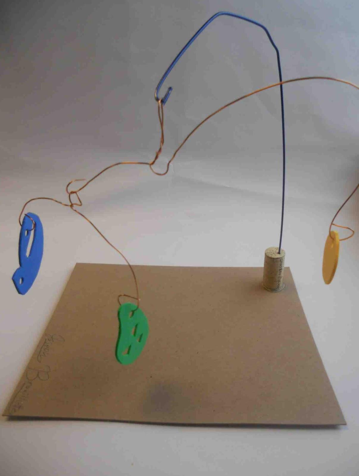how to create a calder mobile