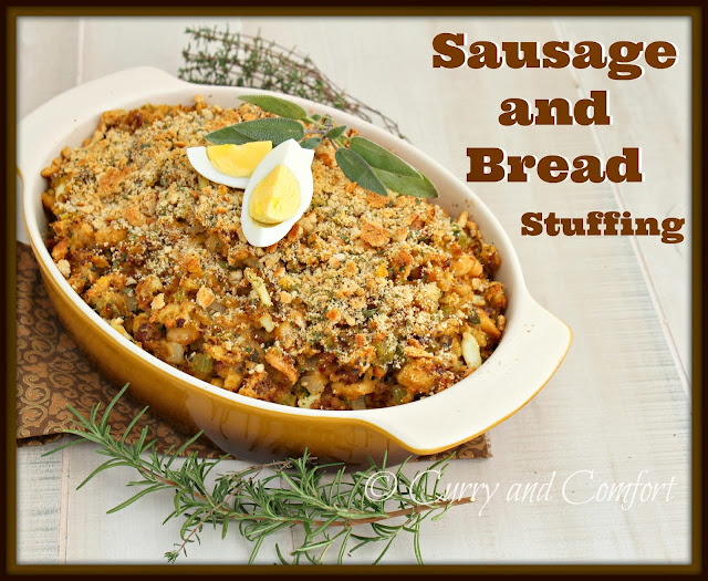 Kitchen Simmer: Sausage and Bread Stuffing