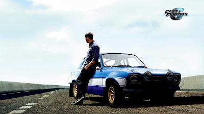 Paul Walker trong poster Fast & Furious