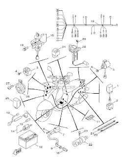 fuse box 2007 yamaha r6 with Yamaha Fz1 Engine Diagram Html on Cbr1000rr Wiring Diagram likewise For A Gsxr 750 Wiring Schematic together with T1840397 Wiring diagram electric start dtr 125 additionally 2007 Suzuki Boulevard S40 Parts also Yamaha Grizzly 660 Wiring Diagram.
