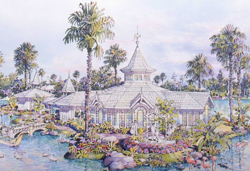 My Disney Life Happy Birthday To Disneys Wedding Pavilion