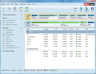 Freeware Partition Manager (MiniTool)