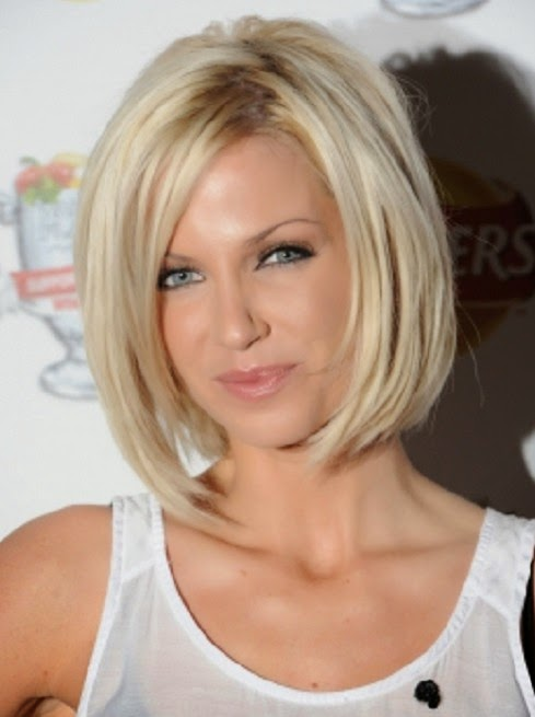 Short Straight Bob Hairstyle 2014