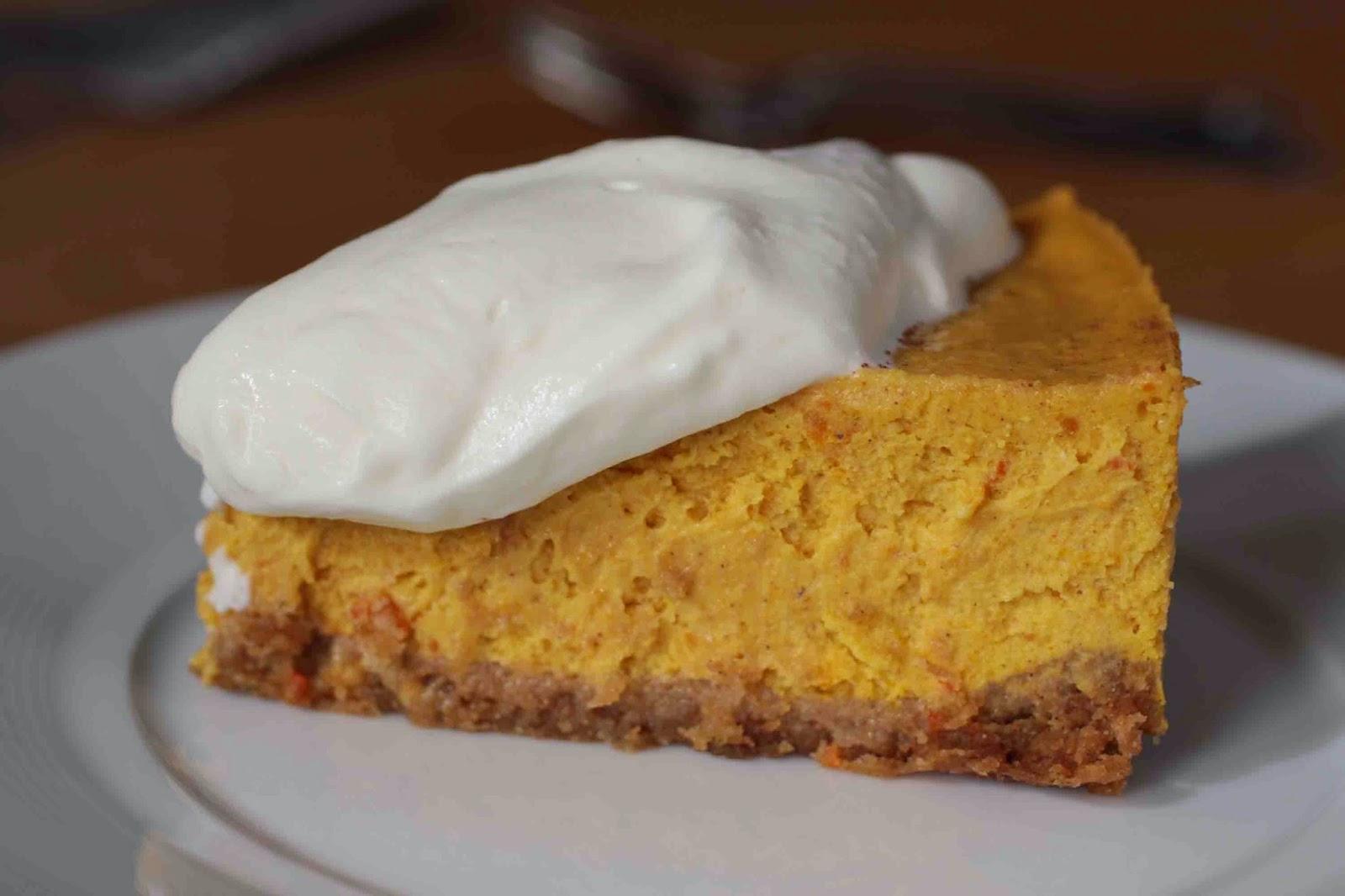 Cheesecake au potimarron