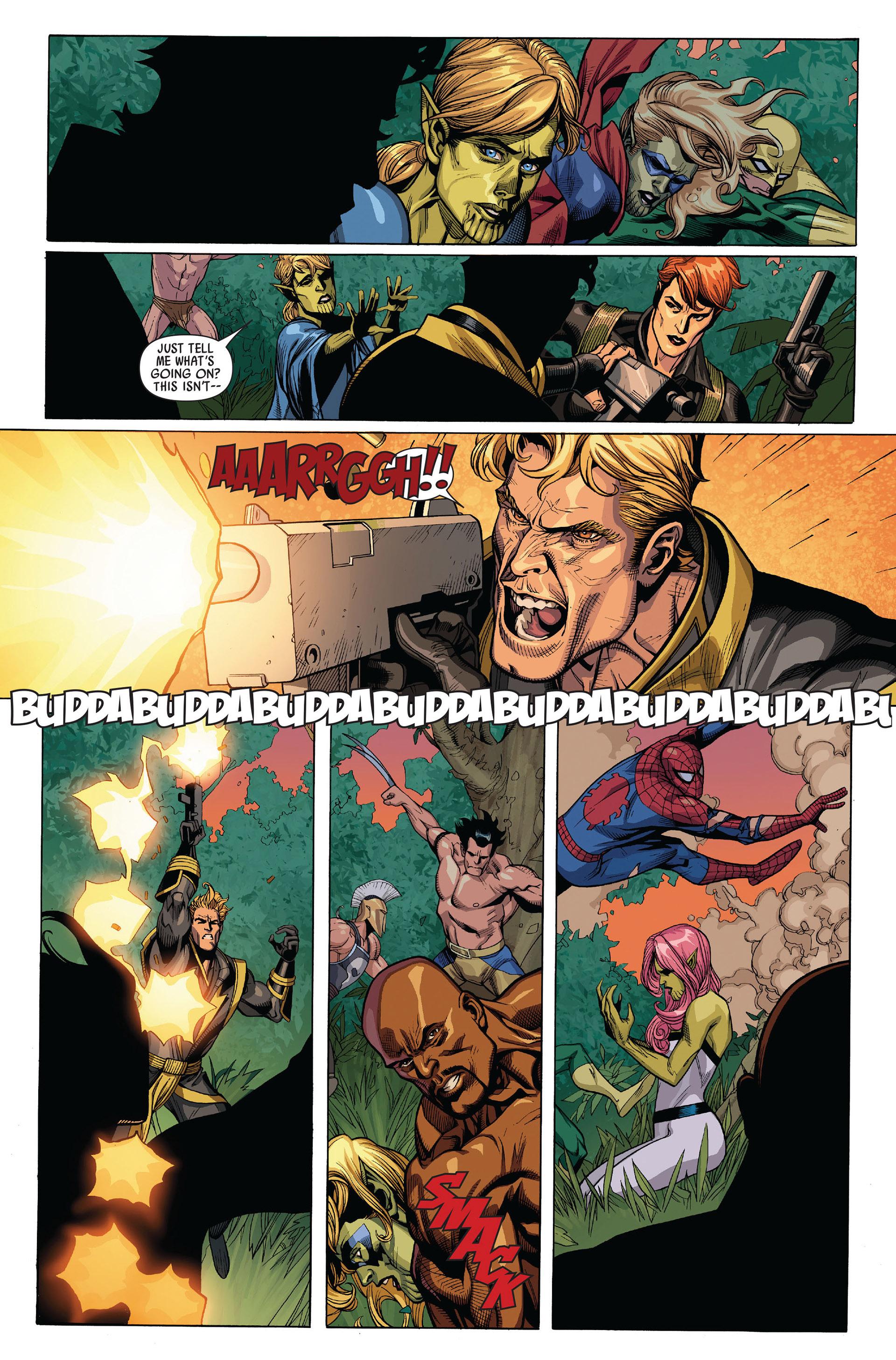 Read online Secret Invasion comic -  Issue #5 - 21