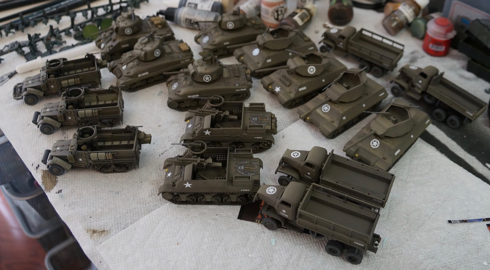 40k Hobby Blog 1 72 Scale Bolt Action Us Army Vehicles