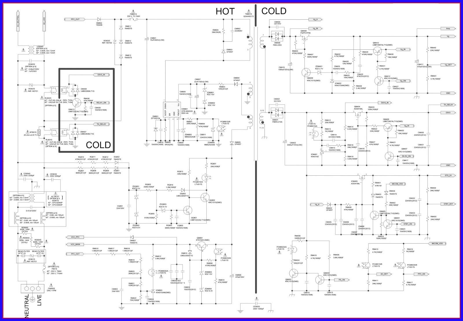 Схемы блоков питания самсунг bn44 45