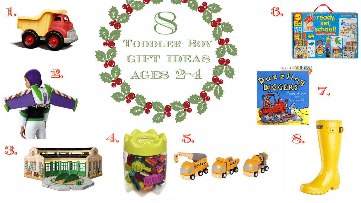 I Love You More Than Carrots: 8 Toddler Boy Gift Ideas :: Ages 2-4