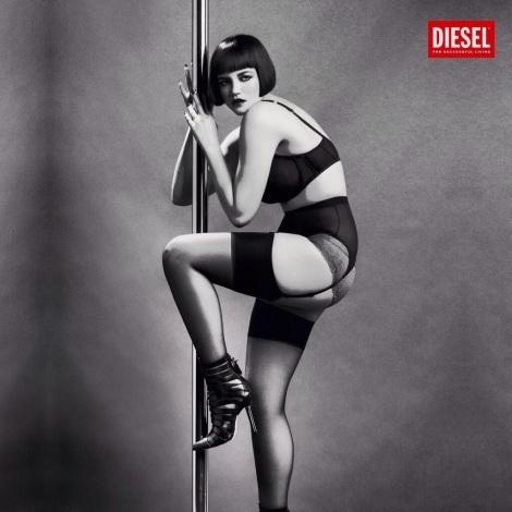 Tessa Kuragi for Diesel Spring 2014 by Inez & VInoodh