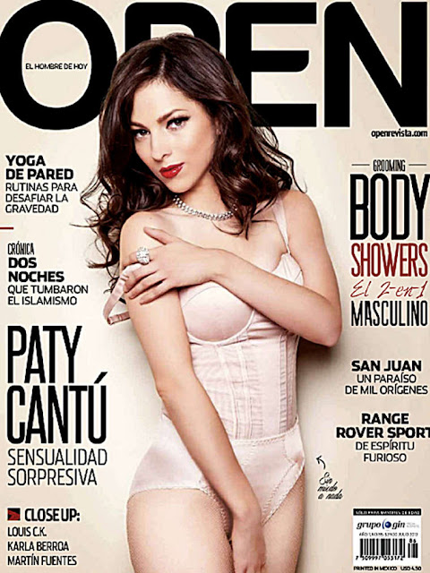 Paty Cantu Open Magazine July 2013 Issue