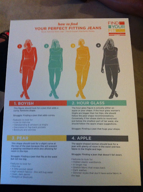 Lee Style Party - Finding your perfect fit