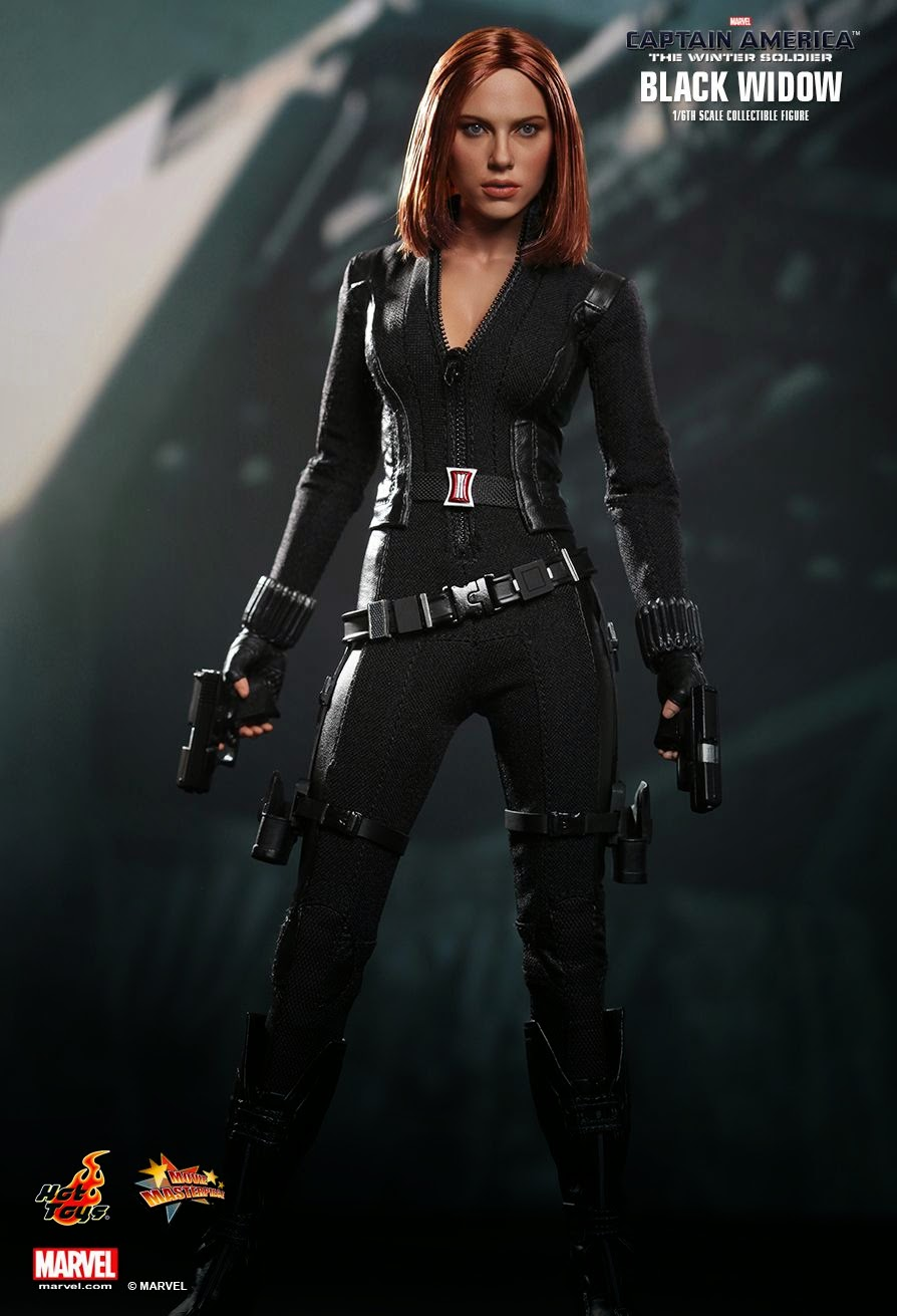 Hot Toys Black Widow The Winter Soldier