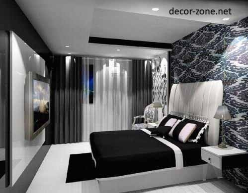 black and white bed room designs taste - Black And White Bedroom Ideas
