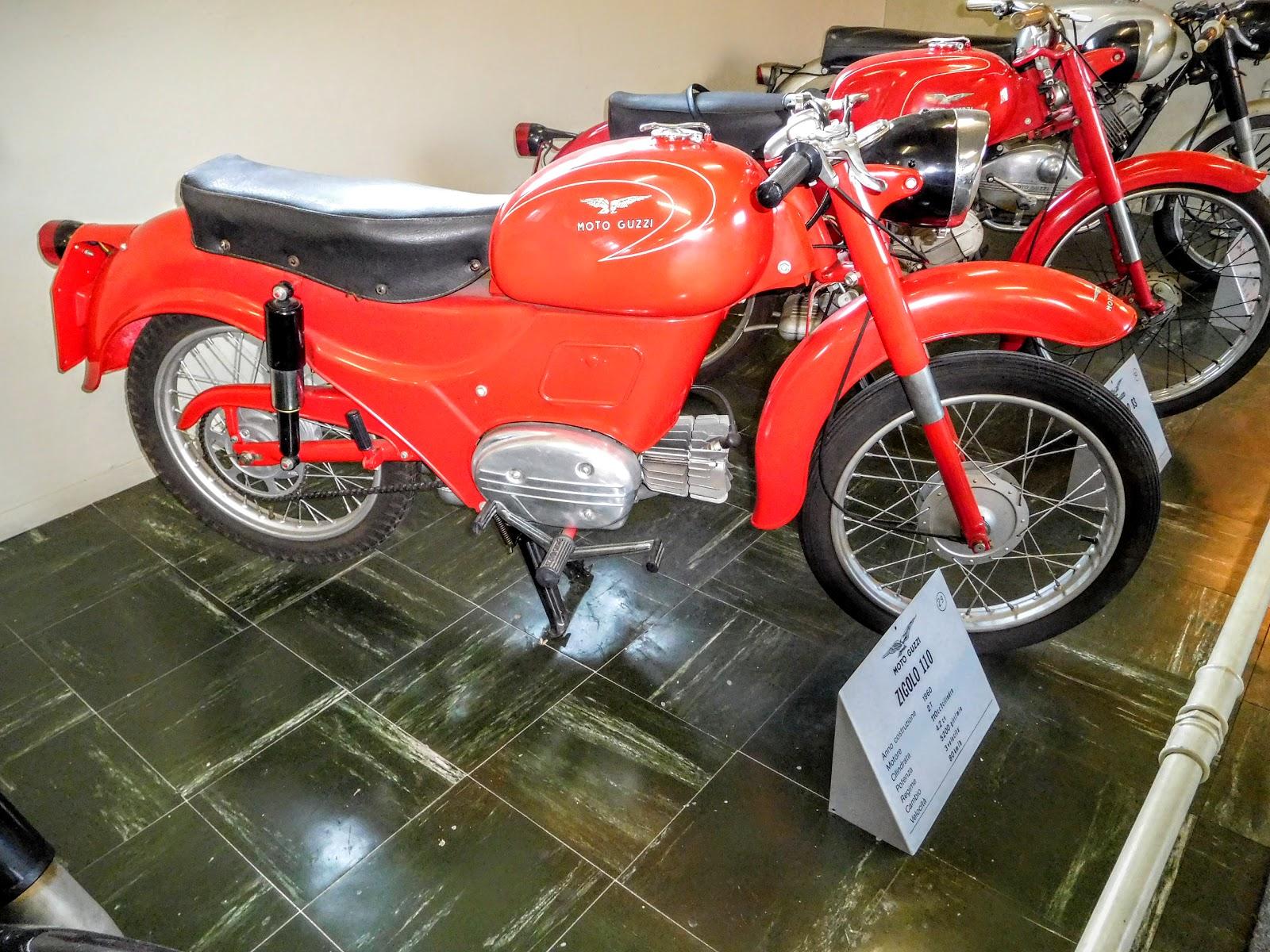 Tigho NYDucati: 1960 Moto Guzzi Zigolo 110